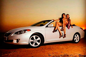 Кабриолет Lexus