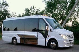 Аренда и прокат микроавтобусов Мерседес Спринтер с водителем на свадьбу недорого в Краснодаре