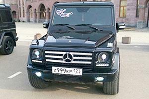 Mercedes Gelandewagen Brabus